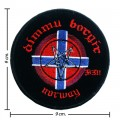 Dimmu Borgir Music Band Style-1 Embroidered Sew On Patch