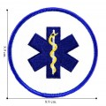 Emergency Medical Technician Style-3 Embroidered Sew On Patch