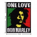 Bob Marley A Reggae Ska Band Style-8 Embroidered Sew On Patch