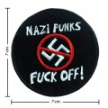 Nazis Anti Music Band Style-1 Embroidered Sew On Patch