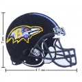 Baltimore Ravens Helmet Style-1 Embroidered Sew On Patch