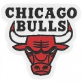 Chicago Bulls Style-3 Embroidered Sew On Patch