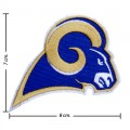 St.Louis Rams Style-1 Embroidered Iron On/Sew On Patch