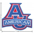 American Eagles Style-1 Embroidered Iron On/Sew On Patch