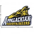 Appalachian State Mountaineers Style-1 Embroidered Iron On/Sew On Patch