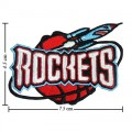 Houston Rockets Style-2 Embroidered Sew On Patch