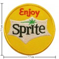 Enjoy Sprite Style-1 Embroidered Sew On Patch