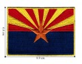 Arizona State Flag Style-1 Embroidered Sew On Patch